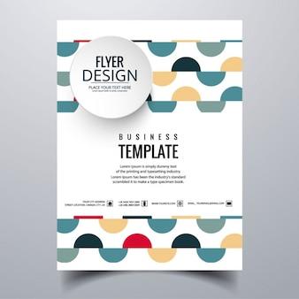 Bunte business-broschüre