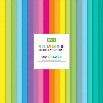 Bunte gestreifte vertikale Linie Muster des Sommers