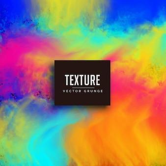 Bunte helle aquarell textur vektor hintergrund