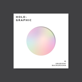 Bunte holographische steigungshintergrund-entwurfsprobe