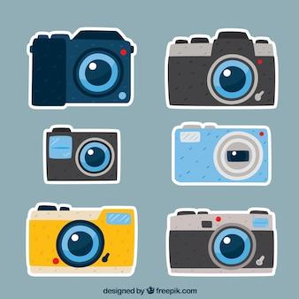 Bunte kamera sammeln