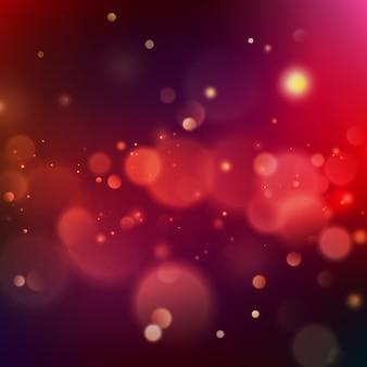 Bunte leuchtende bokeh-hintergrundschablone.