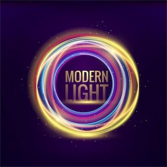 Bunte moderne lichter hintergrund