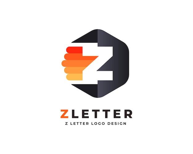 Bunte premium-logo-design-vorlage für den buchstaben
