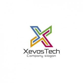 Bunte zusammenfassung logo-vorlage