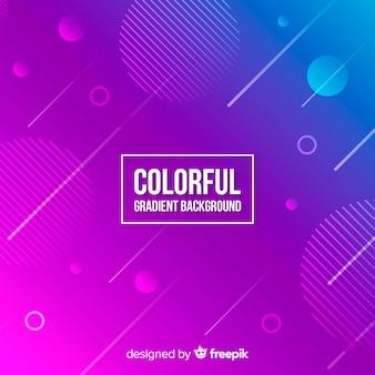 Bunten Hintergrund mit Farbverlauf