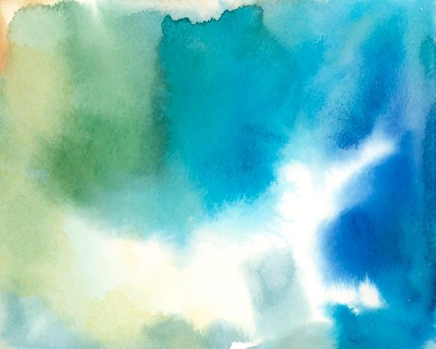 Bunter abstrakter aquarellhintergrundvektor