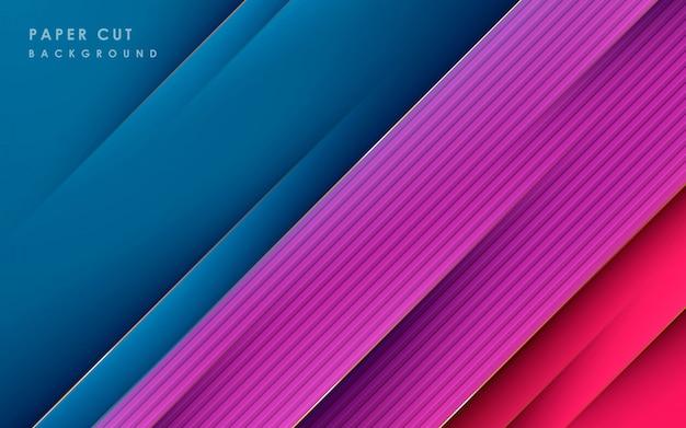 Bunter abstrakter diagonaler linienhintergrund