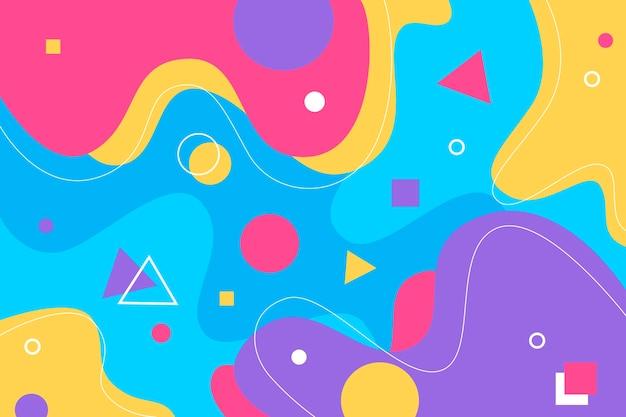 Bunter abstrakter hintergrund