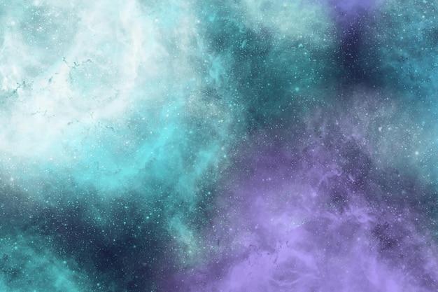 Bunter abstrakter nebel