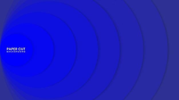 Bunter abstrakter papierschnitt-arthintergrund