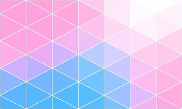 Bunter abstrakter polygonaler raum niedriger polyhintergrund. verbindungsstruktur. vektor-wissenschaft-hintergrund. polygonaler vektorhintergrund.