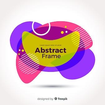 Bunter abstrakter wellenförmiger Hintergrund