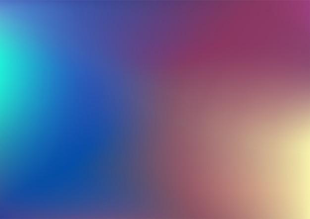 Bunter ambient blurry gradient hintergrund Premium Vektoren