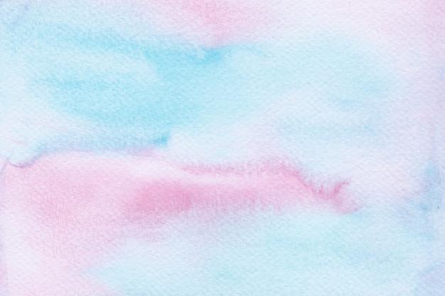 Bunter aquarell-einhornhintergrund. regenbogenhintergrund