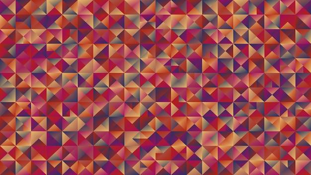 Bunter dreieckhintergrund der abstrakten polygonalen steigung