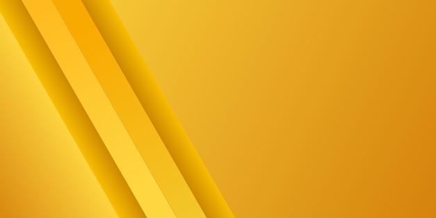 Bunter gelber hintergrund der abstrakten modernen steigung