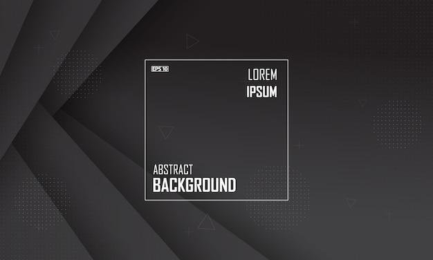 Bunter geometrischer hintergrund. flüssiges abstraktes hintergrunddesign. fluidvektor-gradientendesign für banner, post