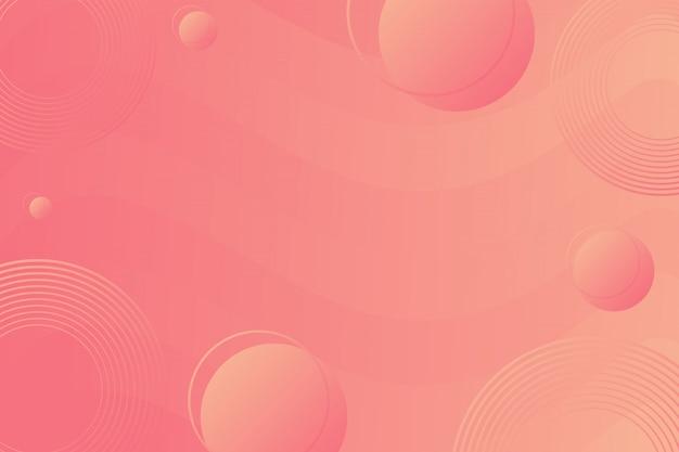 Bunter geometrischer hintergrund. flüssigkeit formt zusammensetzung.