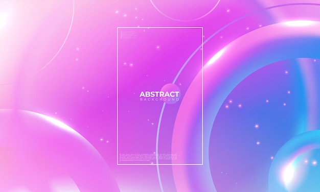 Bunter geometrischer hintergrund. trendy farbverlauf formt komposition. cooles hintergrunddesign für poster. vektor-illustration