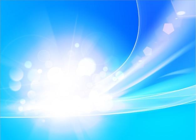 Bunter glatter lichtlinienhintergrund.