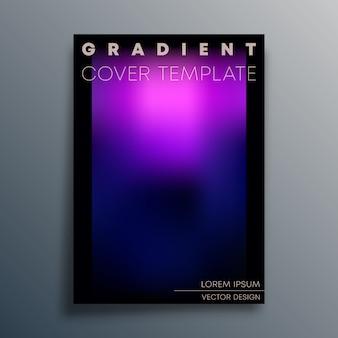 Bunter gradiententexturhintergrund für tapete, flyer, plakat, broschürenumschlag, typografie oder andere druckprodukte. illustration