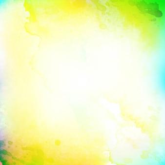 Bunter hintergrund des abstrakten aquarells