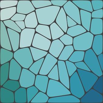 Bunter hintergrund des abstrakten geometrischen mosaiks.