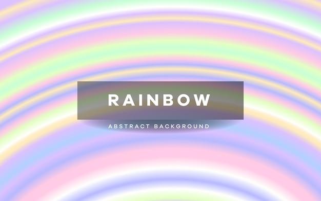 Bunter hintergrund des regenbogenstreifens