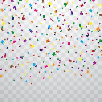 Bunter konfetti