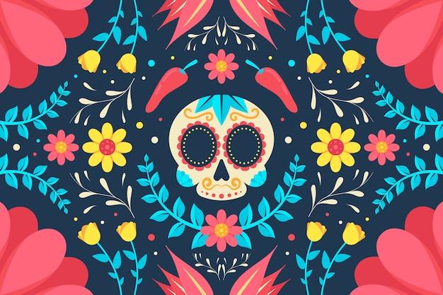 Bunter mexikanischer bildschirmschoner
