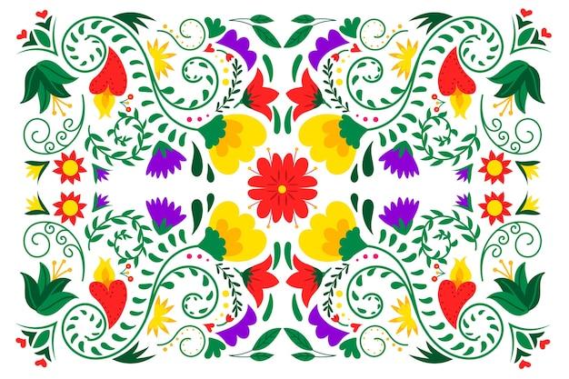 Bunter mexikanischer hintergrund