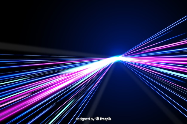 Bunter neonlichthinterhintergrund