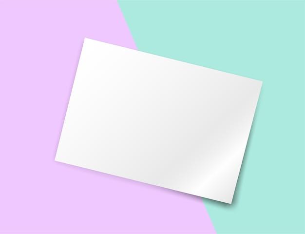 Bunter pastellpapierhintergrund.