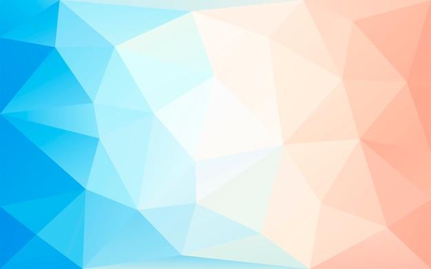 Bunter pastellpolyhintergrund