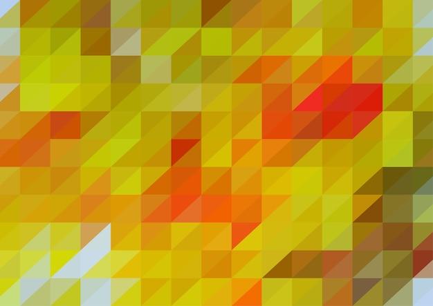 Bunter polygonaler abstrakter hintergrund