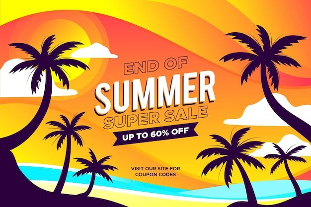 Bunter sommer-superverkauf