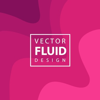 Bunter Vektor-flüssiger Design-Hintergrund