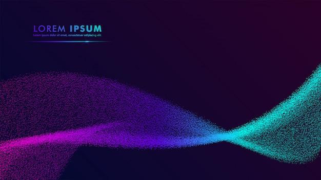 Buntes abstraktes steigungshintergrunddesign-marineblau