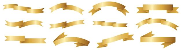 Buntes band für titel, design von werbeartikeln, zum hervorheben von titeln oder werbeinformationen.