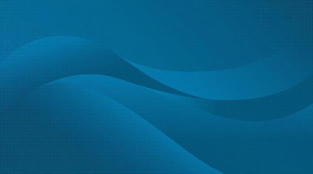 Buntes gewelltes halbtonhintergrund-blau