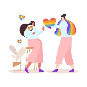 Buntes homophobiekonzept