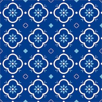 Buntes nahtloses muster mit flachem design. dekorativer hintergrund.
