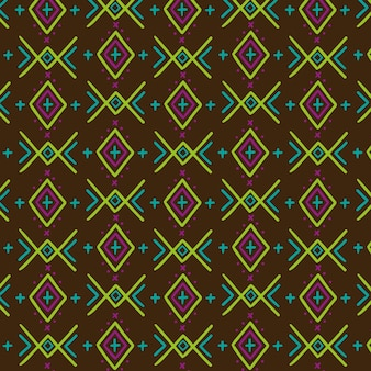 Buntes traditionelles songket-muster