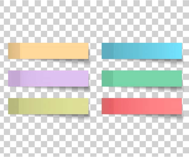 Buntes und weißes aufkleberquadrat