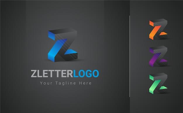 Buntes z-buchstaben-logo