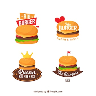 Burger logo kollektion