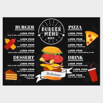 Burger-menü