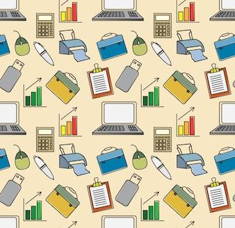 Büroartikel Muster
