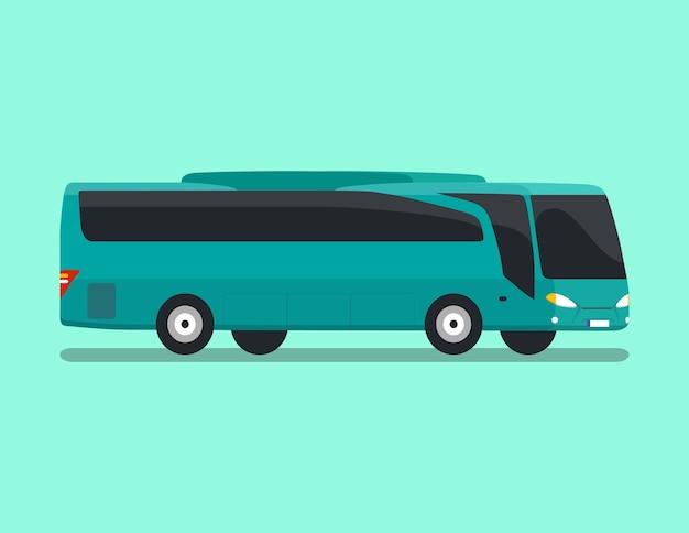 Bus flach vektor
